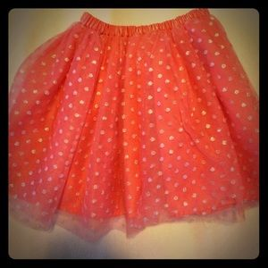 Salmon Colored Hanna Andersson Tulle Skirt